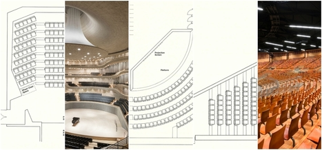 HOW TO Design Theater Seating, Shown Through 21 Detailed Example Layouts | The Architecture of the City | Scoop.it