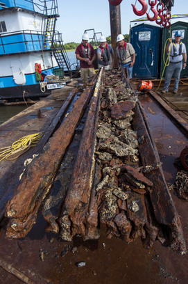 Divers raise wreckage of Confederate warship in 5-ton chunks | ScubaObsessed | Scoop.it