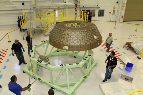 Domes Arrive for CST-100 Test Article Assembly | Commercial Crew Program | New Space | Scoop.it