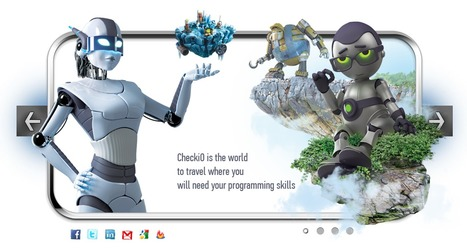 CheckIO : a code gaming portal | (I+D)+(i+c): Gamification, Game-Based Learning (GBL) | Scoop.it