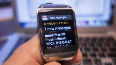 Samsung Galaxy Gear (U.S.) finally gets new firmware and expanded notifications | Mobile Tools | Scoop.it