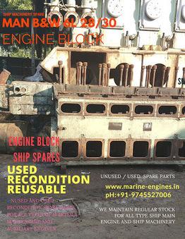 Engine Block | MAN B&W 6L28/30 | Marine Engines Motors and generators | Scoop.it