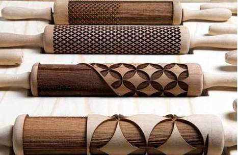 Decorative Rolling Pins that will earn you brownie points in the kitchen - State of Green | Sustainable living | Scoop.it