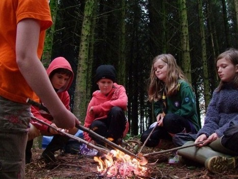Bushcraft overnight camp with Chris Holland at Shambala Festival 2012 | 23rd - 27th August | I love my world - natural outdoor play | Scoop.it