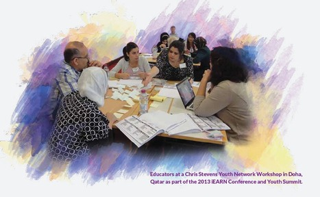 Educators at a Chris Stevens Youth Network Workshop in Doha, Qatar, July 2013. | iEARN in Action | Scoop.it