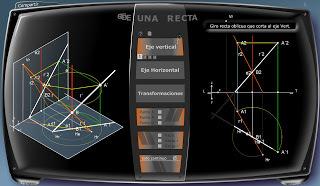 Aprende Geometría: Sistema Diédrico.- | Enseñanza Matemática | Scoop.it