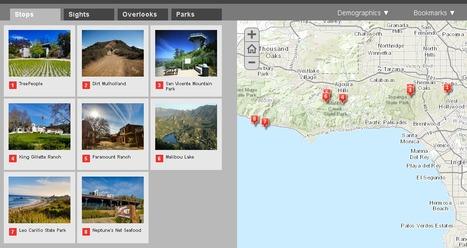 Extent Driven Context | Map UI Patterns | Scoop.it