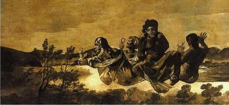 Twitter / Gadiouka: Goya - The Fates ... | the black paintings | Scoop.it