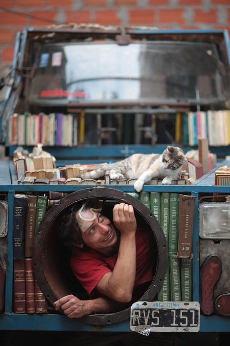 Portable Tank Library Hands Out Free Books | Investimentos em Cultura | Scoop.it