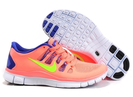 Cheap Nike Free 5.0 V2 Womens Blue Pink | Cheap KD Shoes | Scoop.it