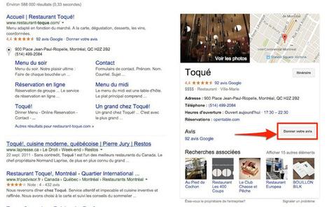 L'onglet Google+ Local disparaît de la barre d'outils de Google+   Réseaux et médias sociaux, veille, technique et outils   Scoop.it