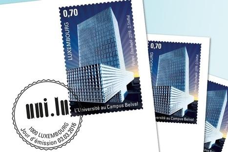 Un timbre de collection pour l'Université et la Maison du Savoir   Belval   Scoop.it