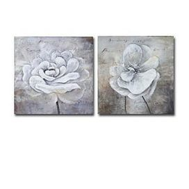 Hand-painted Floral Oil Painting - Set of 2 - Free Shipping - Oilpainting-shop.com | OilPainting-Shop.com | Scoop.it