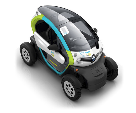 La Twizy de Renault en auto-partage fait appel au QR code | Innovations urbaines | Scoop.it