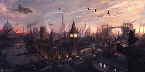 Dying Light by Ninjati #Illustration #Cityscape...