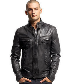 Mens Black Leather Jacket | How You Can Get a Perfect Fitting Leather Jacket | Scoop.it
