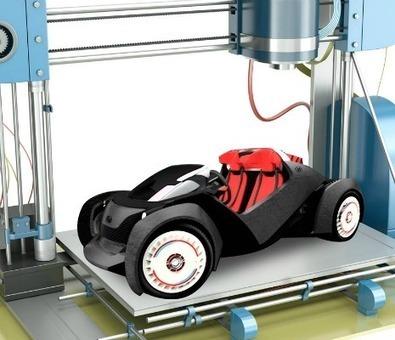 Strati est la première voiture fabriquée en impression 3D - Techniques de l'Ingénieur | Usages nouvelles technologies | Scoop.it