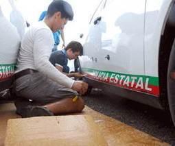 Rotulan 150 nuevas patrullas de Vialidad - Heraldo de chihuahua | Rotulación y aplicación del vinilo | Scoop.it