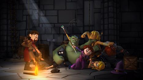 ANIMATION MAGAZINE | PGS Takes 'Dungeon of Naheulbeuk' Abroad | Le Donjon de Naheulbeuk | Scoop.it