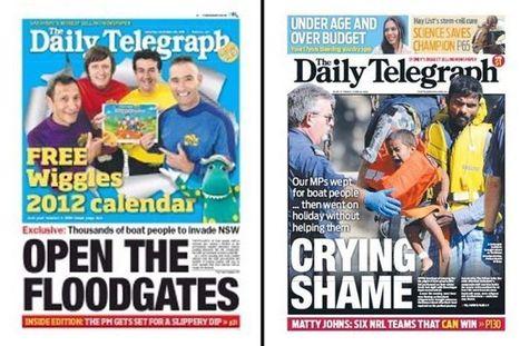 Crying shame: tabloid cynicism over asylum seekers - The Drum (Australian Broadcasting Corporation)   Psycholitics & Psychonomics   Scoop.it