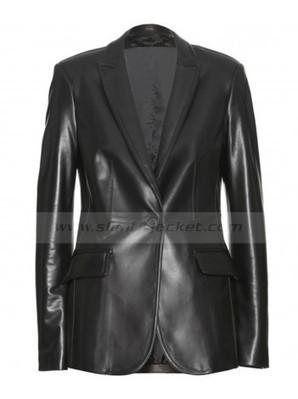 Black Widow Leather Jacket | Scarlett Johansson The Winter Soldier Jacket | Women's Jackets | Scoop.it