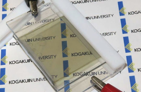 Transparent Batteries That Charge in the Sun Could Replace Smartphone Screens | News we like | Scoop.it