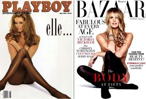 Elle Macpherson Recreates Her Iconic 'Playboy' Cover For 'Bazaar' At 49 | Glam Mag | Scoop.it