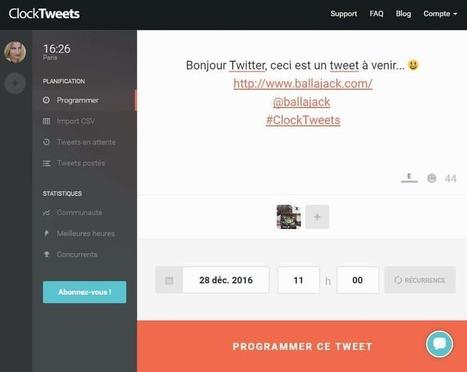 Planifier ses tweets pour les publier au bon moment | Trucs et astuces du net | Scoop.it