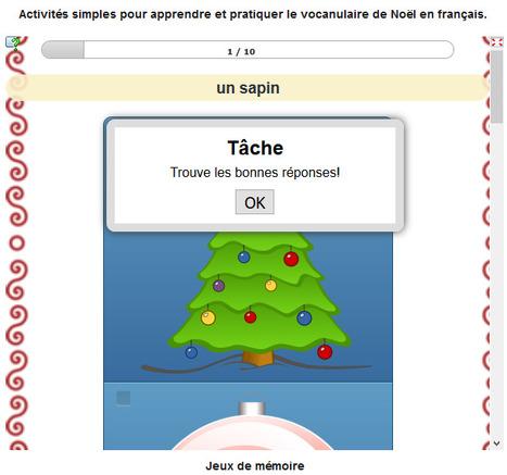 Le vocabulaire de Noël | FLE enfants | Scoop.it
