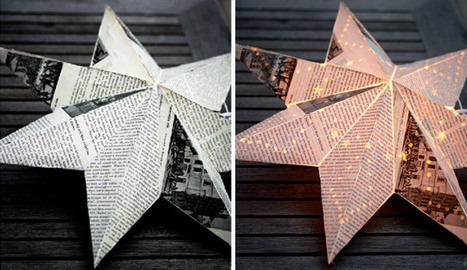 DIY Idea: Light Up Advent Star Craft and Creativity | Apartment ... | Creativity for Better Living and Aging | Scoop.it