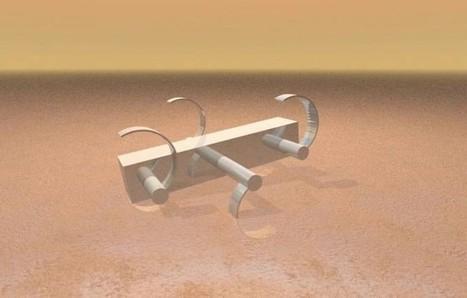 La forma más eficiente para las patas de un robot que deba moverse sobre arena   Era del conocimiento   Scoop.it