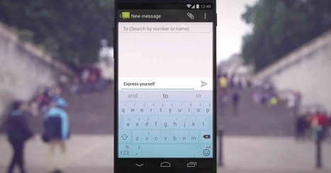 Swiftkey, Android's Most Popular Keyboard App, Is Now Free | Giast Trend Watch | Scoop.it