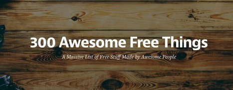 300+ Awesome Free Internet Resources You Should Know | elearning stuff | Scoop.it