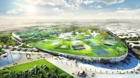 EuropaCity: A New Urban Center by Bjarke Ingels Group | green streets | Scoop.it