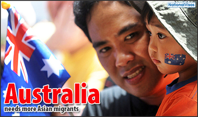 Greater Asian migration to benefit Australia in the future   Skilled Workers in Australia   Scoop.it