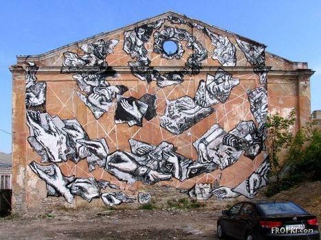 Best of Russian Street Art - Page 31 | World of Street & Outdoor Arts | Scoop.it