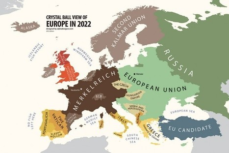 Europe According to the Future, 2022 | Alphadesigner Blog | Som-hi | Scoop.it