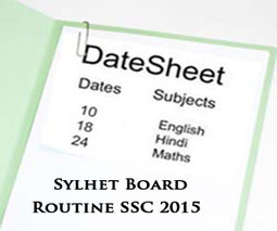 Sylhet Board SSC Exams Routine 2015 Science & Arts | Education for Bangladeshi Student | Scoop.it