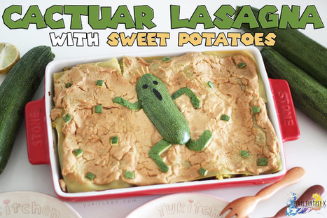 Have your lasagna and eat it too, with this vegan-friendly dish featuring Cactuar 【Recipe】 | Vegan Food | Scoop.it