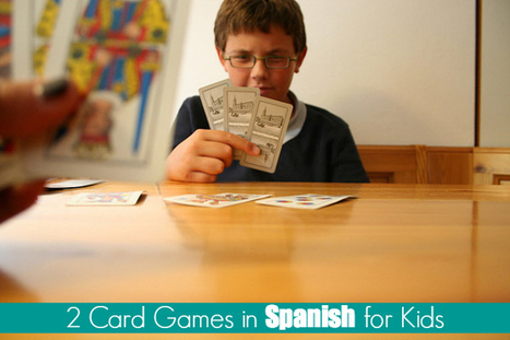 Two Card Games in Spanish for Kids {Printable Game} | Celebrate Languages! | Scoop.it
