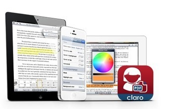 Claro Apps – iPhone, iPad Apps for reading, writing, magnification and communication | Leveranciers hulpmiddelen | Scoop.it