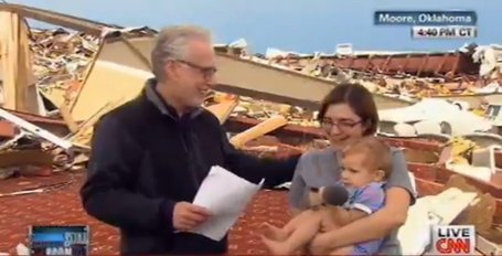 Wolf Blitzer's Embarrassing Moment With Tornado Survivor | fitness, health&nutrition | Scoop.it