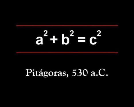 Fotos: Las 17 ecuaciones que cambiaron la historia - Teorema de Pitágoras   Recursos TIC para Estadística y Probabilidad   Scoop.it