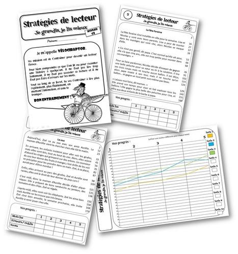 Vélociraptor : fichier d'entrainement à la fluence de lecture pour CE et CM (Fluor) | E-apprentissage | Scoop.it
