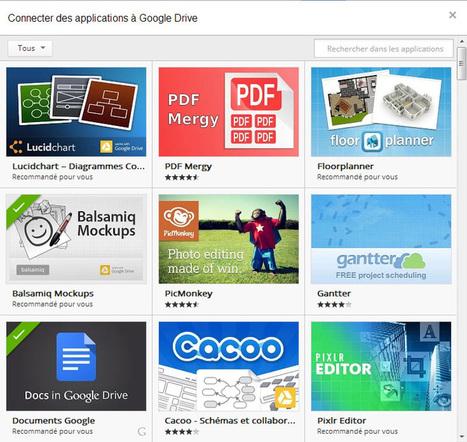 Google Drive : Intégrez vos applications directement dans Google Drive | Google APPS & Outils | Scoop.it