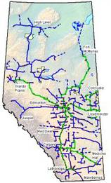 Canada: Alberta SuperNet | Service Alberta | geography | Scoop.it