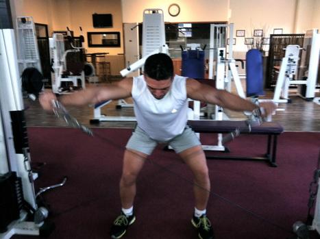 Equilibrez vos épaules en réalisant l'EXERCICE DE LA SEMAINE ! Souvent négligés, renforcez vos deltoïdes postérieurs et découvrez L'OISEAU À LA POULIE sur mon BLOG. Bon entraînement ! | Training - Entraînement | Scoop.it