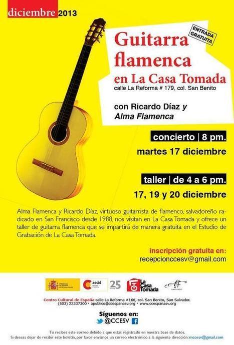 Twitter / CCESV: Apúntate al concierto y taller ... | Actividades del Centro Cultural de España en El Salvador | Scoop.it