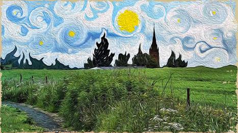 Oil Painting Effect in Photoshop | Digital Art II | Scoop.it