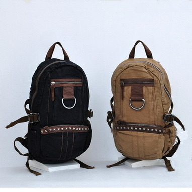 Vagabond teardrop canvas field pack unisex from Vintage rugged canvas bags | Womens fashion | Scoop.it